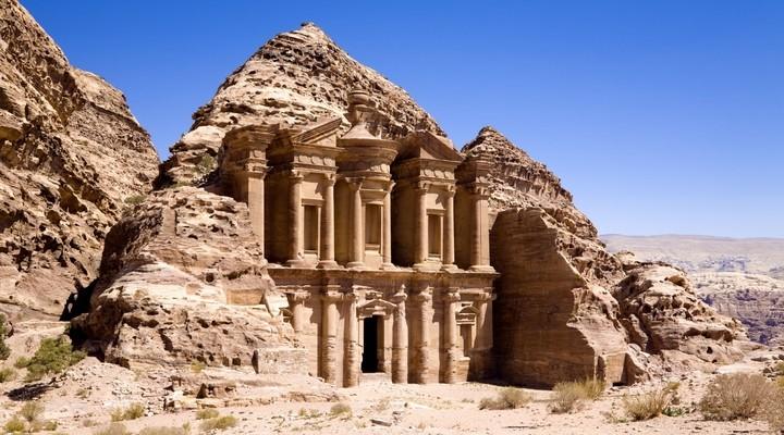 Klooster Petra Jordanie