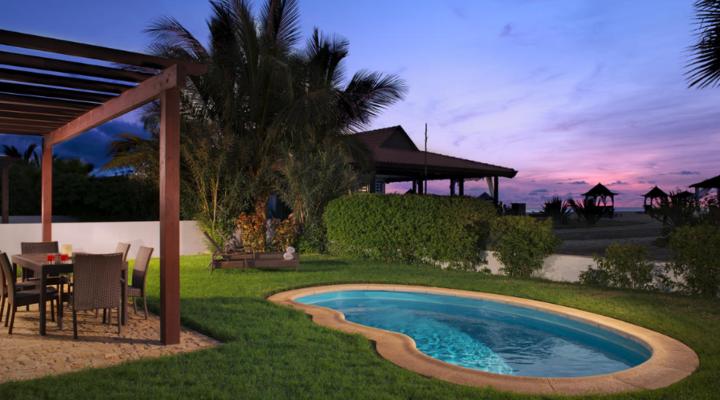Tuin van Villa met vier slaapkamers