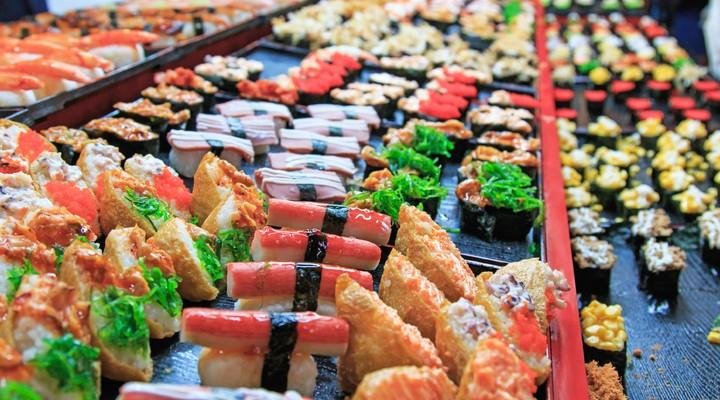 Sushi in Taiwan