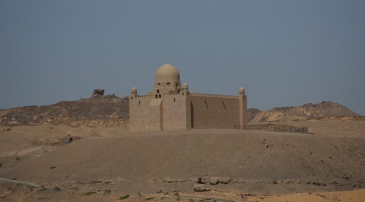 Aswan stad Egypte