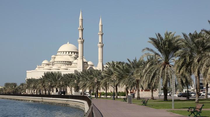 Moskee Sharjah Creek VAE