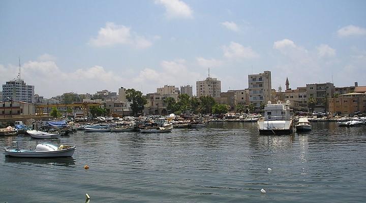 Haven van Tyrus in Libanon