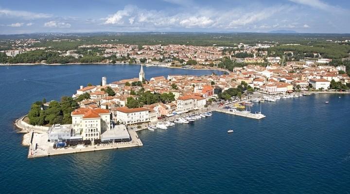 Oude stad Porec, Istrië, Kroatië