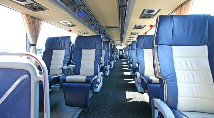 Interieur First Class touringcar