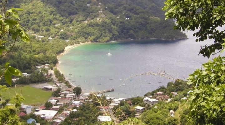 Piratenbaai Charlotteville, Tobago