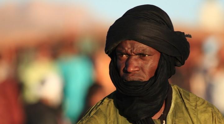Toeareg in de Sahara