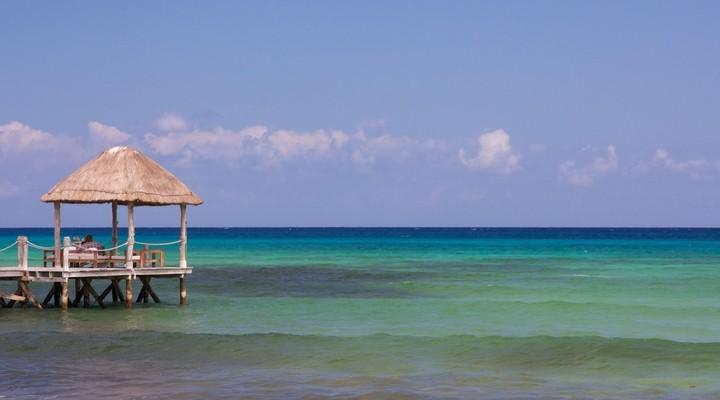 Caribische Zee in Playa del Carmen