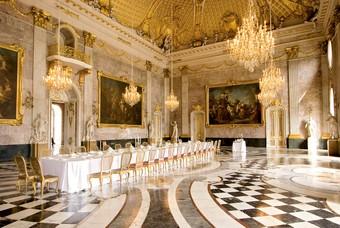 Het interieur van paleis Potsdam