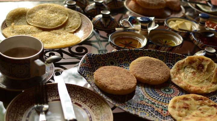 Ontbijt Marokko