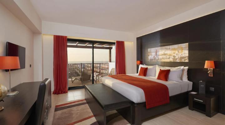 Slaapkamer van Grand Suite