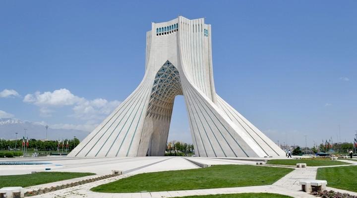 Azadi monument in Teheran, hoofdstad Iran