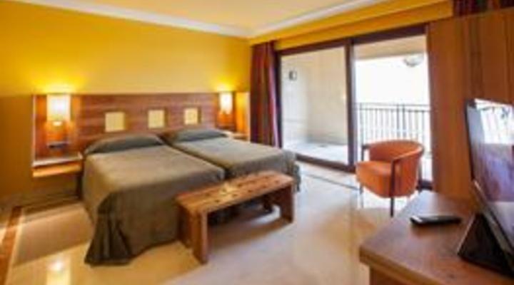 de slaapkamer van 2-persoonskamer, Junior Suite