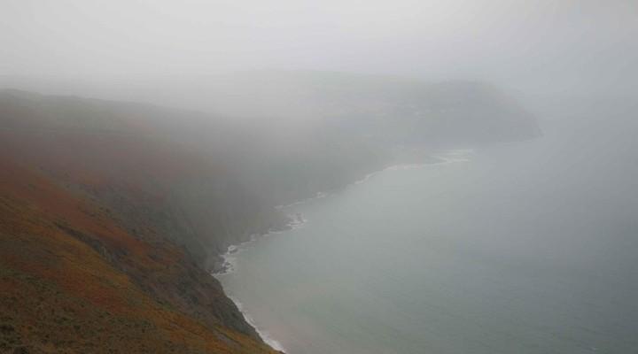 Slecht weer langs de kust