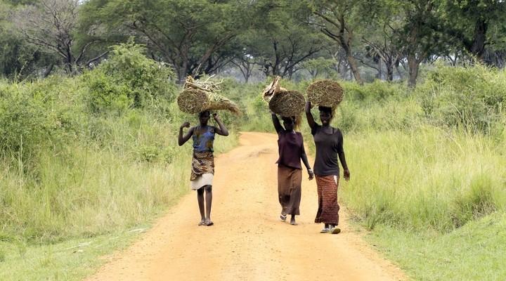 Lokale bevolking Uganda