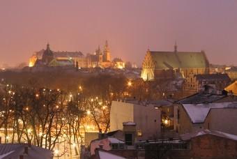 Uitzicht vanuit Hotel Gródek