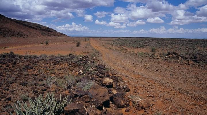 Het prachtige landschap van Kenia