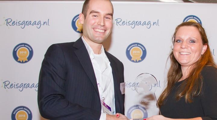 Arkefly met Reisgraag award