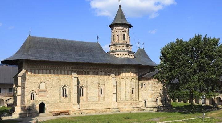 Klooster in Voronet, Roemenie