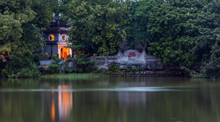Ngoc Son tempel Hanoi
