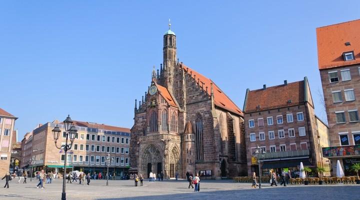 Frauenkirche Neurenberg, Duitsland