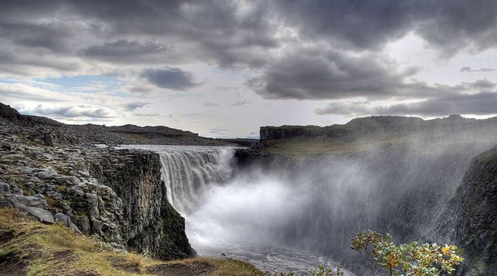 De waterval Dettifoss