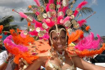 Op Sint Maarten vieren ze ook carnaval