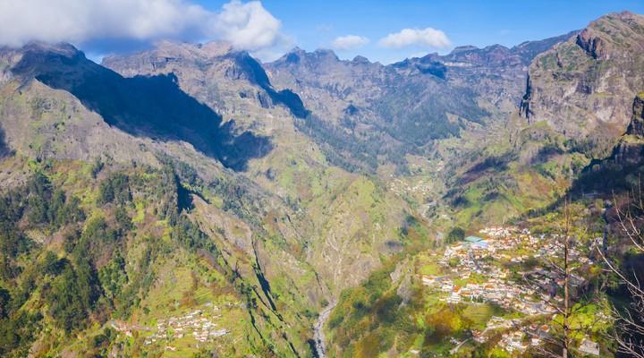 Landschap op Madeira