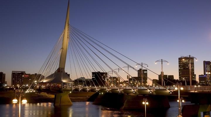 Esplanade Reil Brug Winnipeg