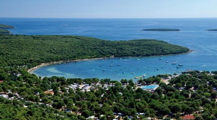 Camping Vestar, baai Istrië, Kroatie