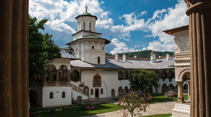 Het Klooster van Horezu