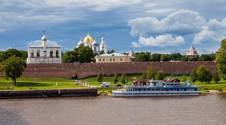Het Kremlin van Novgorod
