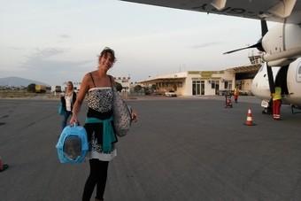 Verliefd op Lesbos en Koukla