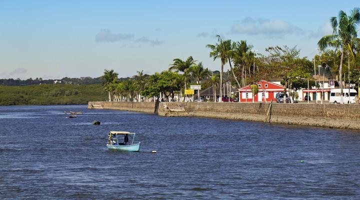Kustlijn Porto Seguro, Brazilië
