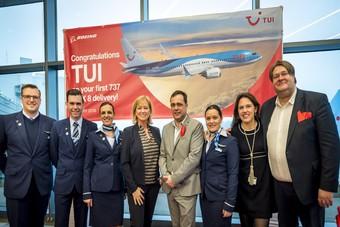 Eerste Boeing 737 MAX voor TUI