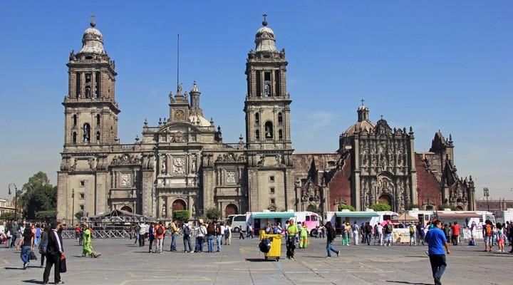 Plaza de la Constitucion, Mexico-stad, Mexico