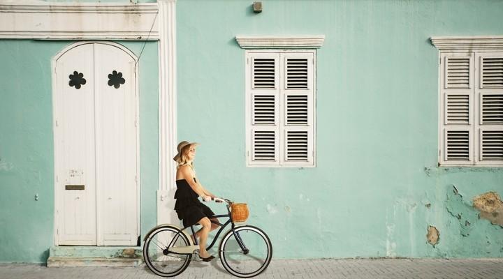 Pietermaai street, credits Curacao tourist Board.