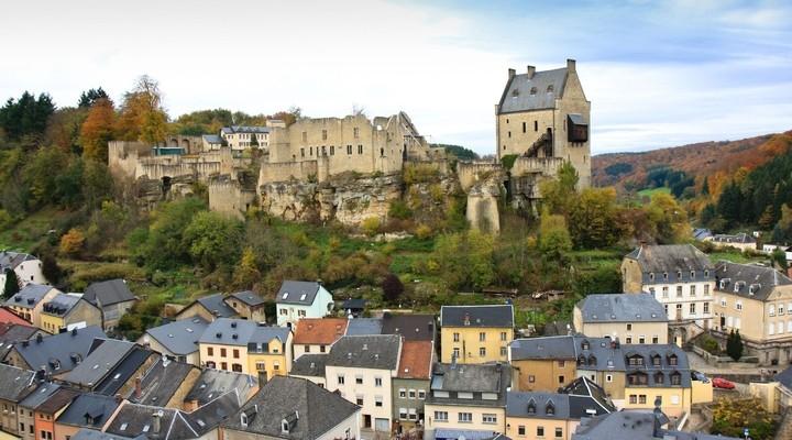 het kasteel van Larochette