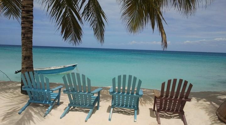 Witte stranden op de Dominicaanse Republiek