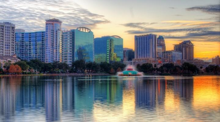 Orlando aan het water