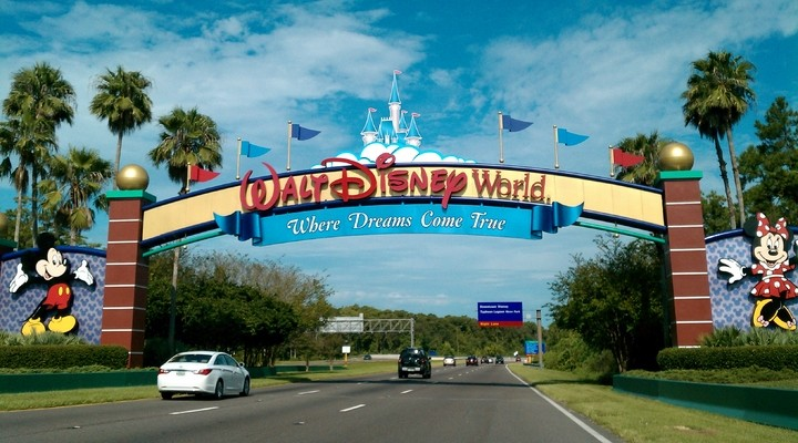 Entree Walt Disney World