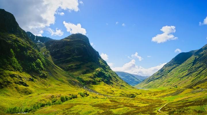Glencoe in Schotland