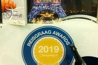 Frankrijk wint de Reisgraag Award