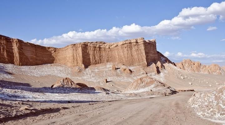 De Atacama-woestijn is de droogste woestijn ter wereld