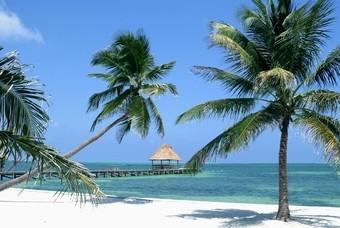 Strand in Belize