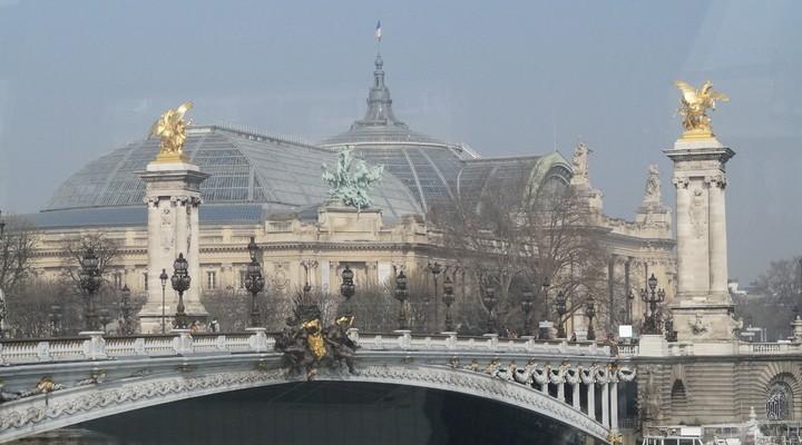 Uitzicht Parijs, hoofdstad Frankrijk