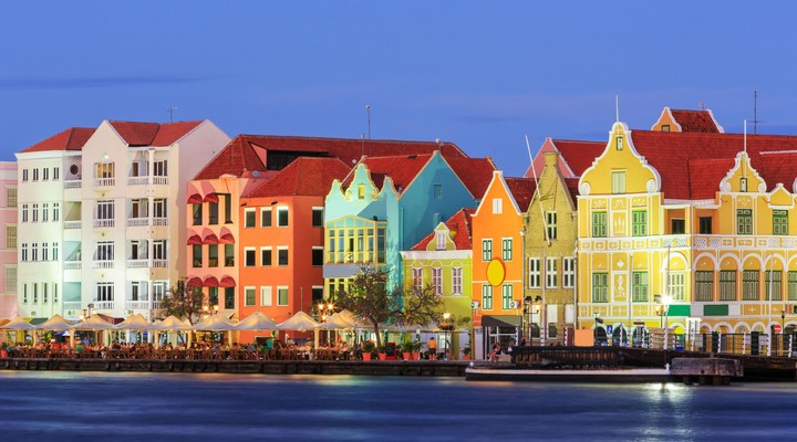 Willemstad in Curaçao