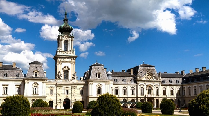 Kasteel Keszthely, Hongarije