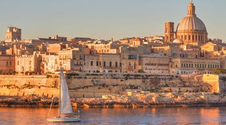 Valletta is de hoofdstad van Malta