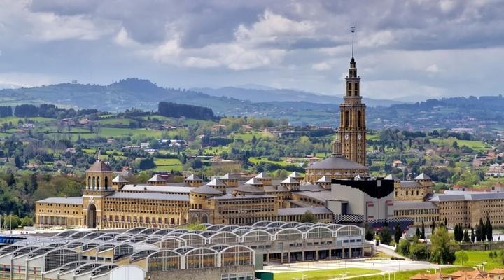 Oude universiteit van Gijón - Spanje