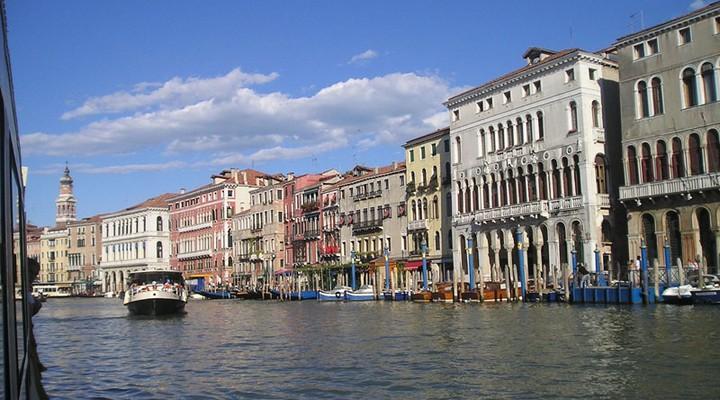 Canal Grande, Venetië, Italië